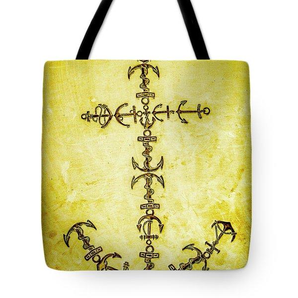 Tribal Waters Tote Bag
