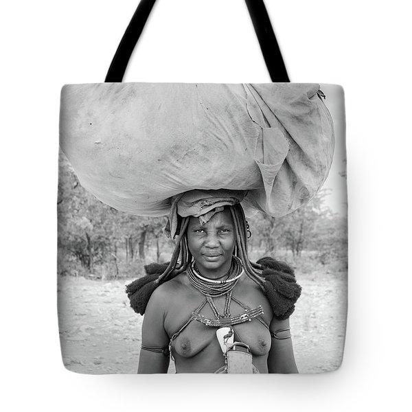 Tribes Portrait Tote Bag