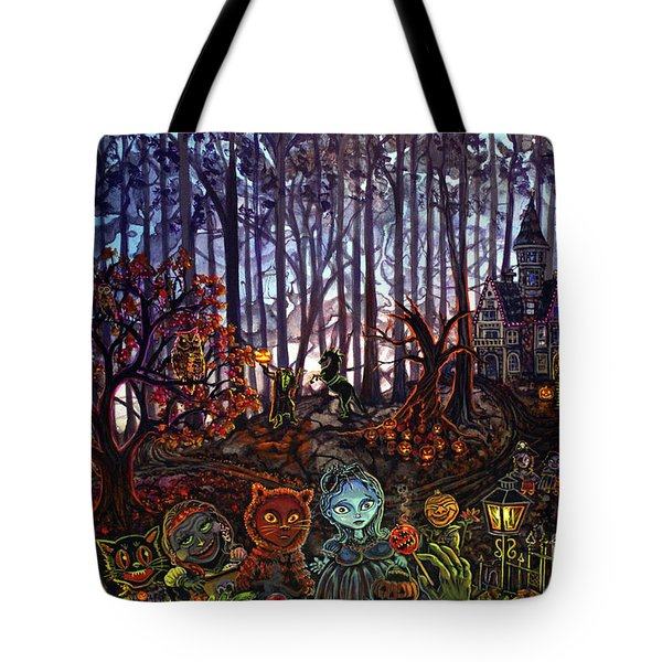Trick Or Treat Sleepy Hollow Tote Bag