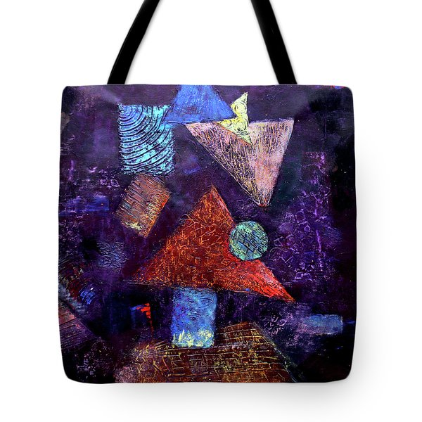 Trio Triangles  Tote Bag