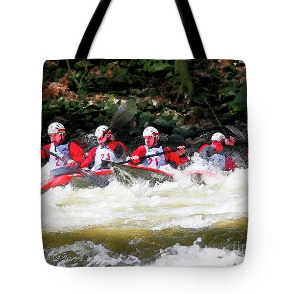 Triple Crown-21 Tote Bag