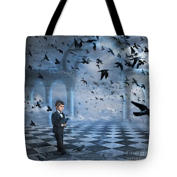 Tristan's Birds Tote Bag
