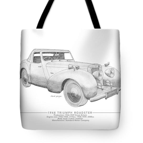Triumph Roadster Tote Bag
