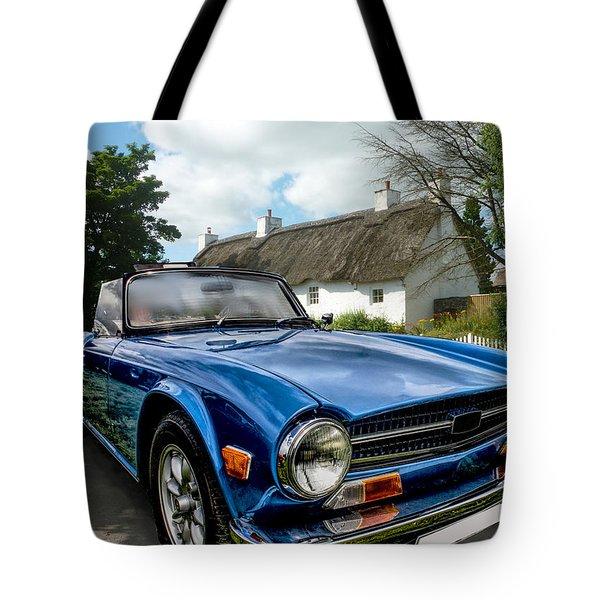 Triumph Tr6 Tote Bag