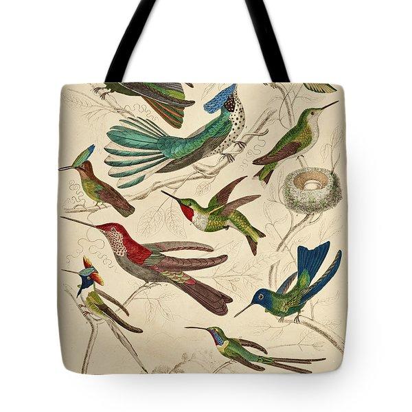 Trochilus - Hummingbirds Tote Bag