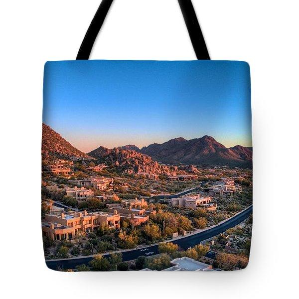 Troon Village Tote Bag