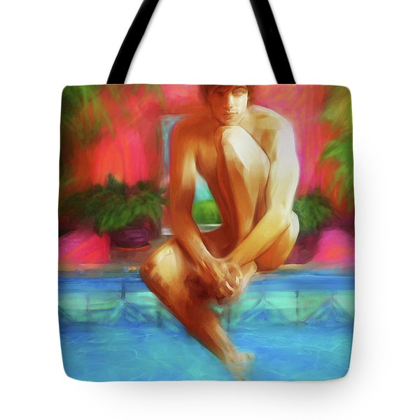 Tropic Haze Tote Bag