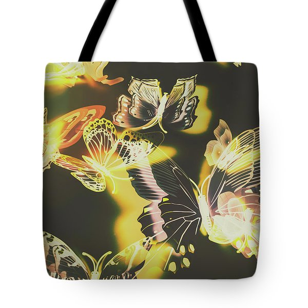 Tropical Glow Tote Bag