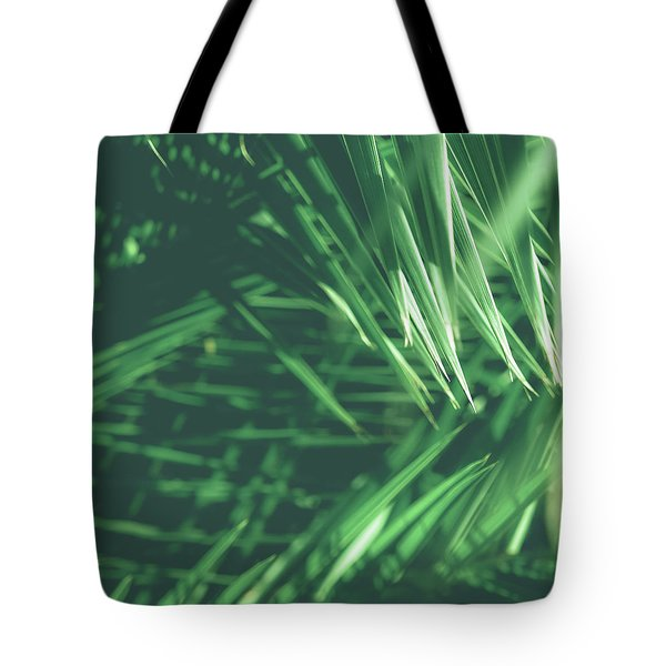 Tote Bag featuring the photograph Tropical IIi by Anne Leven