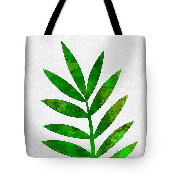 Tropical Leaf 3 Tote Bag