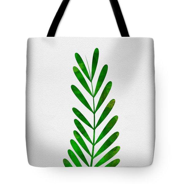 Tropical Leaf II Tote Bag