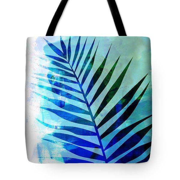 Tropical Leaf Watercolor I Tote Bag