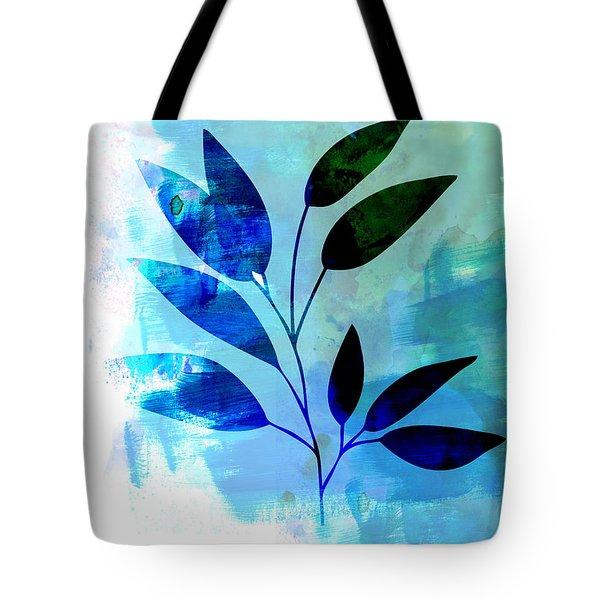 Tropical Leaf Watercolor II Tote Bag