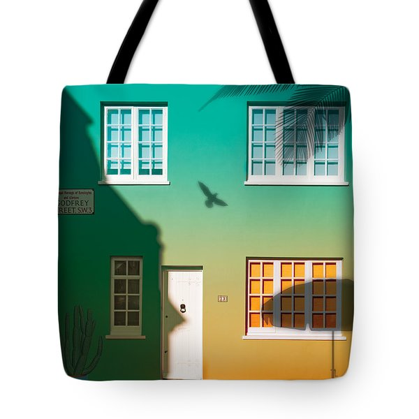 Tropical London Tote Bag