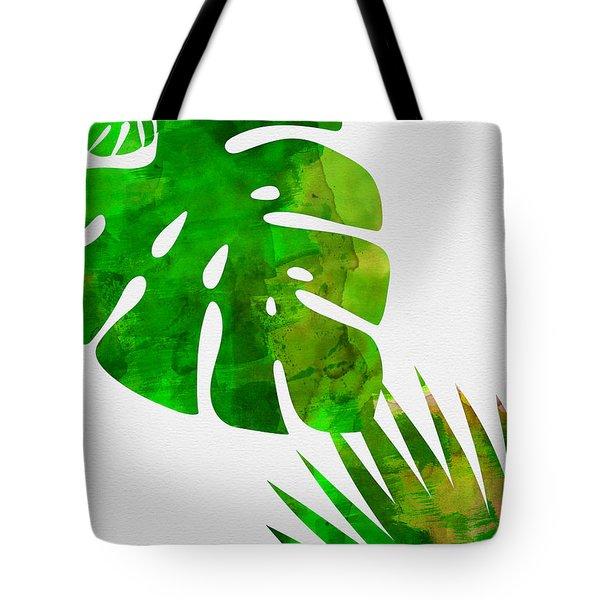 Tropical Monstera  Tote Bag