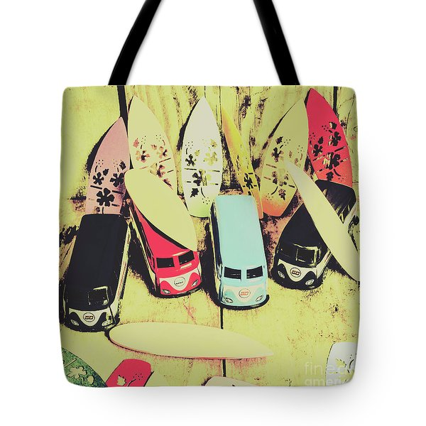 Tropical Trippers 1960 Tote Bag