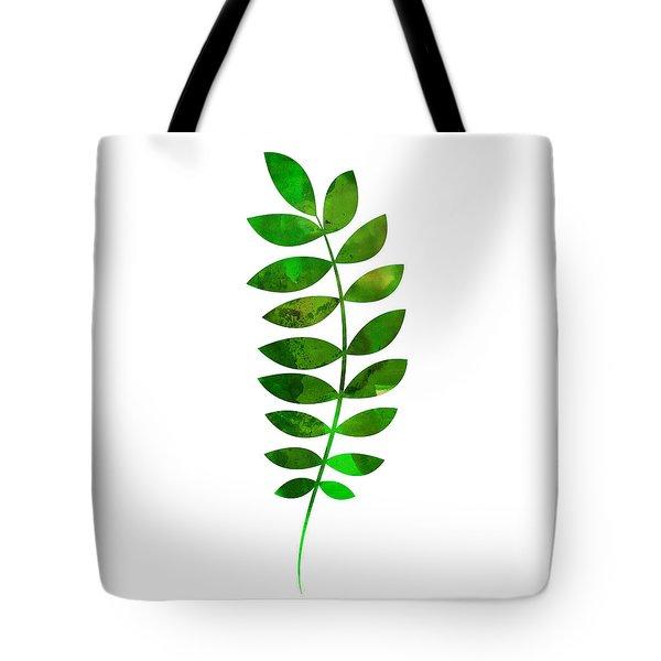 Tropical Zamioculcas Leaf  Tote Bag