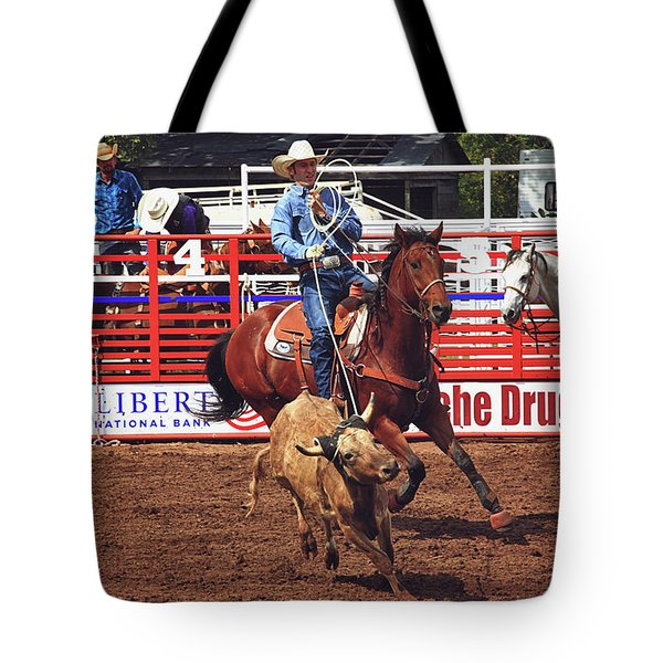 Trying To Rope In Those Points Tote Bag