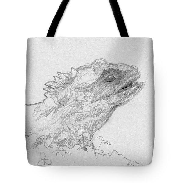 Tuatara Tote Bag