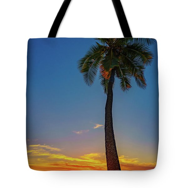 Tuesday 13th Sunset Tote Bag