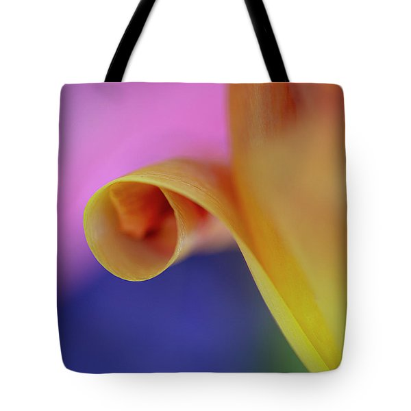 Tote Bag featuring the photograph Tulip Close Up by John Rodrigues