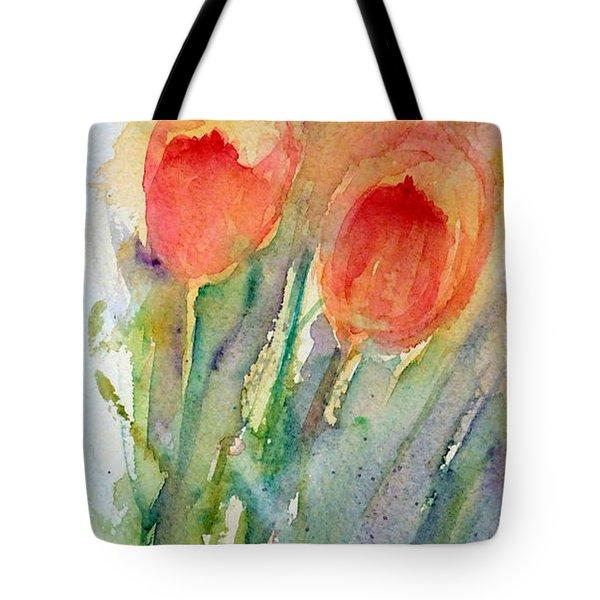 Tulip Dance Tote Bag