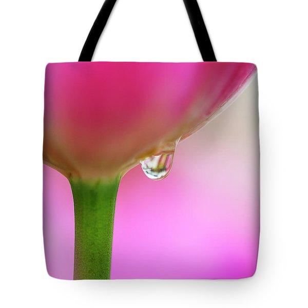Tulip Drop Tote Bag