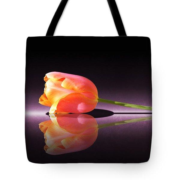 Tulip Reflection Tote Bag
