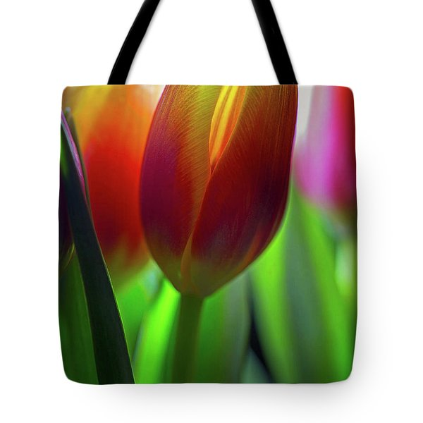 Tote Bag featuring the photograph Tulips by John Rodrigues