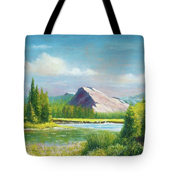 Tuolumme Meadows Spring Tote Bag