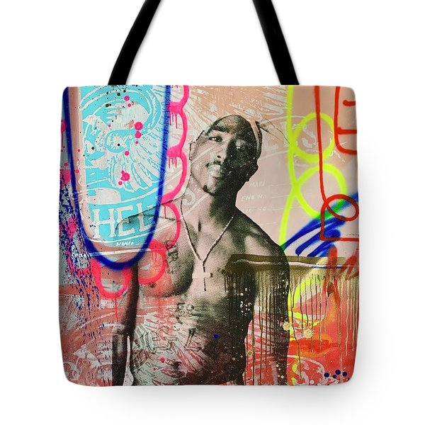 Tupac Love Tote Bag
