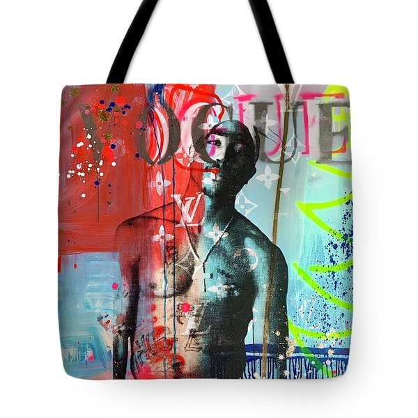 Tupac Vogue Tote Bag