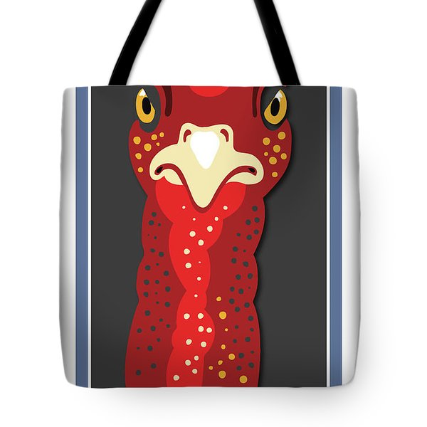 Turkey Stare Jp Tote Bag