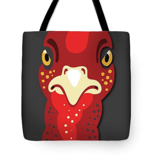 Turkey Stare Jp Tote Bag