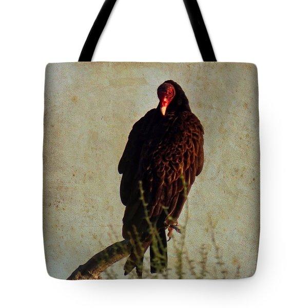 Turkey Vulture Vintage Tote Bag
