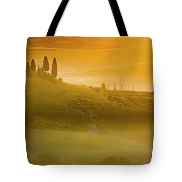 Tuscany In Gold Tote Bag