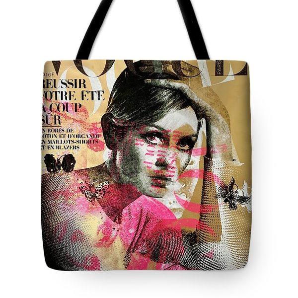 Twiggy Gold  Tote Bag