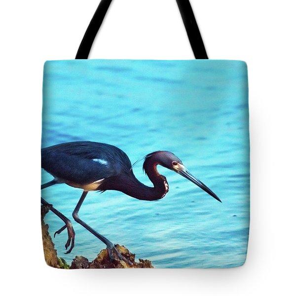 Twilight Blues Tote Bag