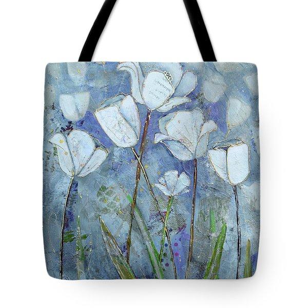 Twilight Tulips Tote Bag