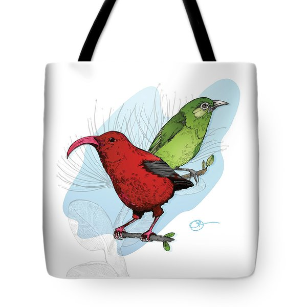Two Creepers Tote Bag