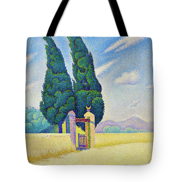 Two Cypresses - Digital Remastered Edition Tote Bag
