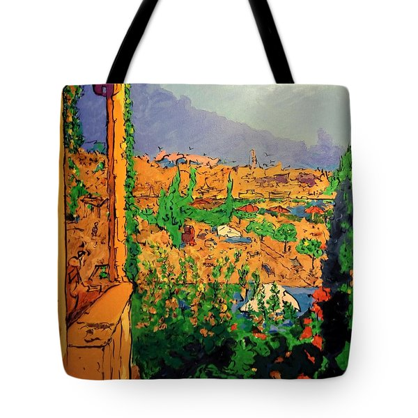 Spritz On The Terrace Tote Bag