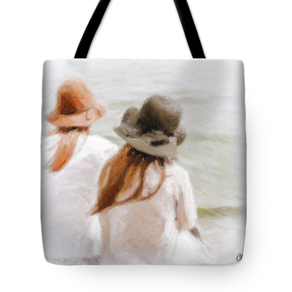 Two Dreamers Tote Bag