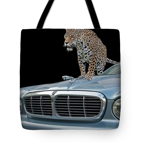 Two Jaguars 1 Tote Bag