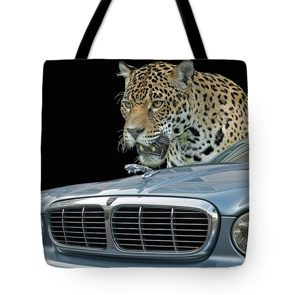 Two Jaguars 2 Tote Bag