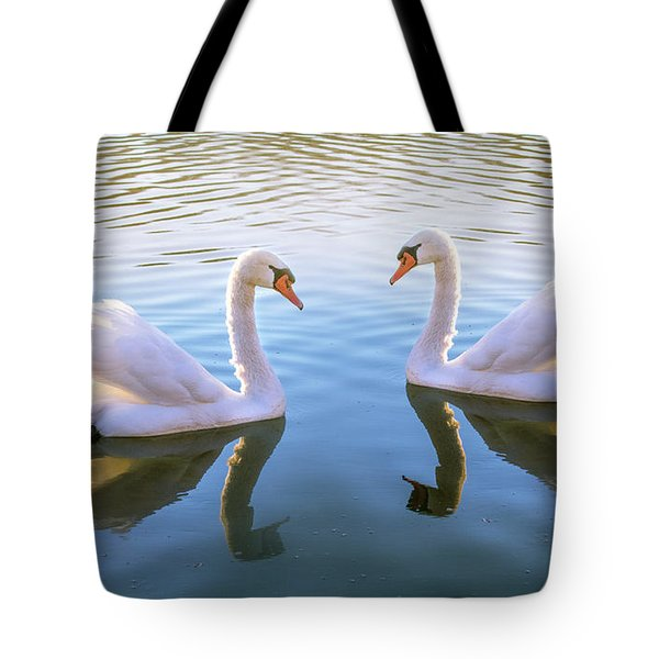 Two Of Them Tote Bag