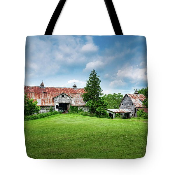 Two Old Barns Tote Bag