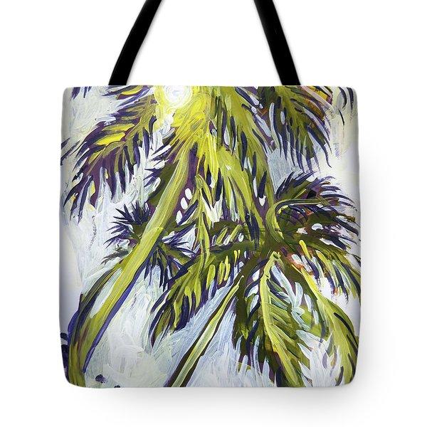 Two Palm Sketch Tote Bag