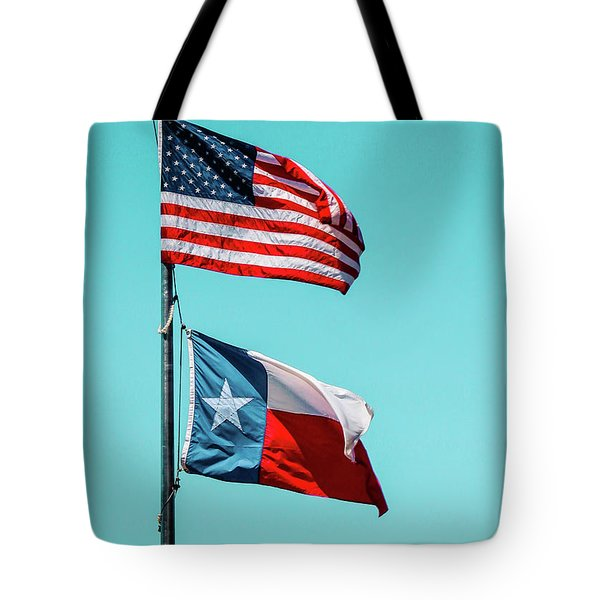 Tote Bag featuring the photograph Two Republics by SR Green