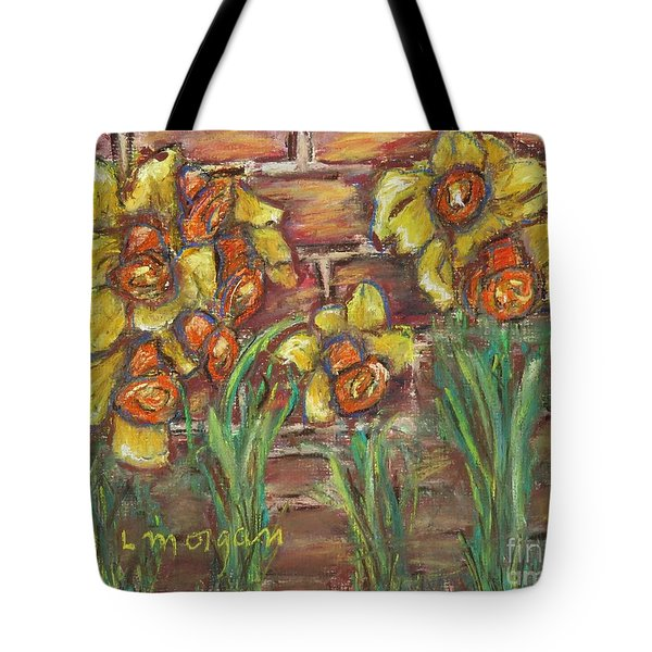 Two Toned Daffodils Tote Bag